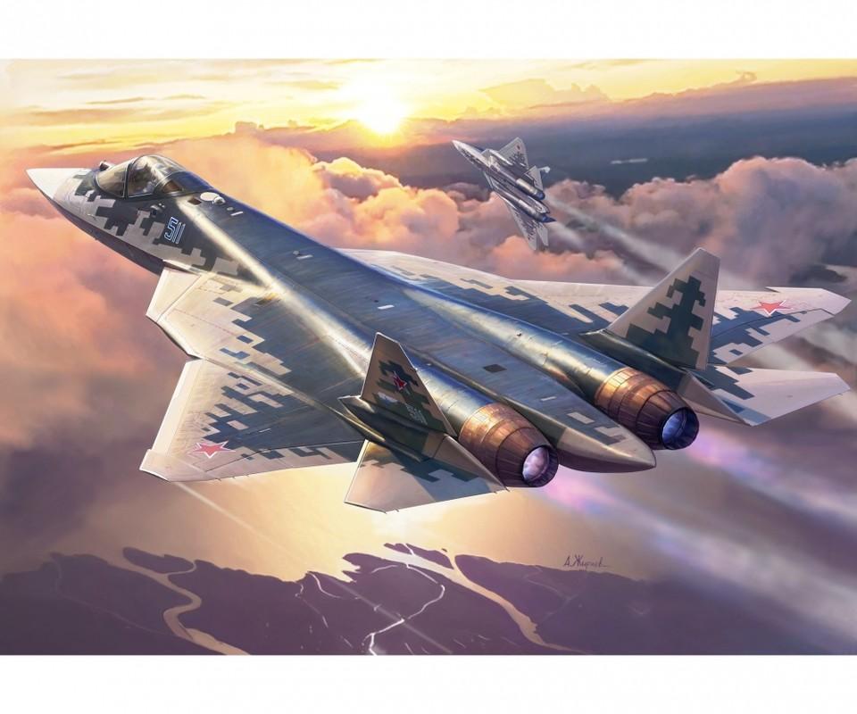 Dieu gi khien tiem kich Su-57 nhinh hon F-22 va vuot xa J-20?-Hinh-16