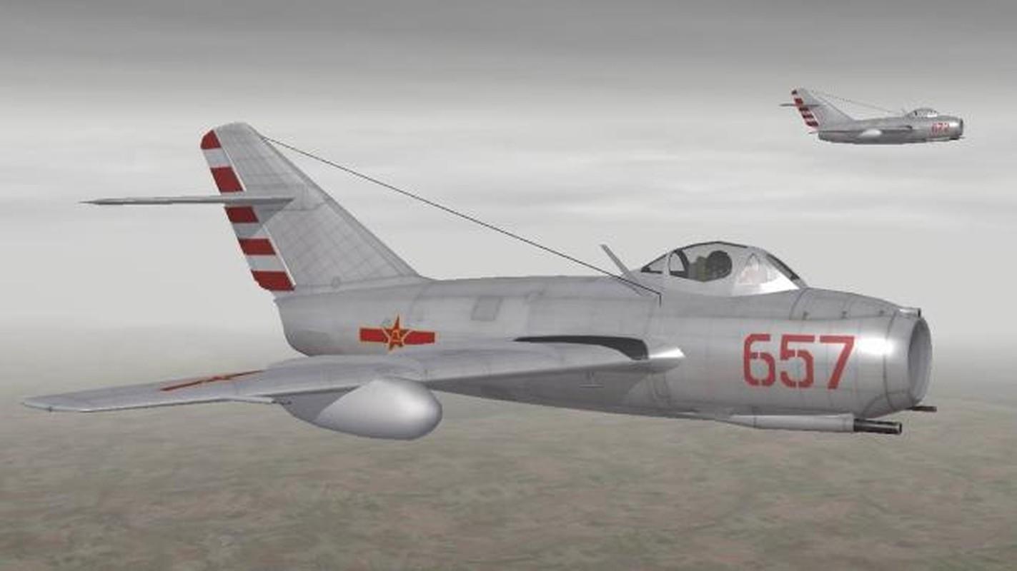 Lien Xo san sang doi 7 tiem kich MiG-15 cho chiec tiem kich My nay-Hinh-11