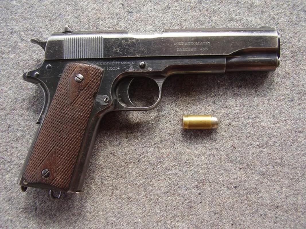 Cuoc dua giua 2 khau sung ngan huyen thoai Luger P-08 va Colt M-1911-Hinh-11