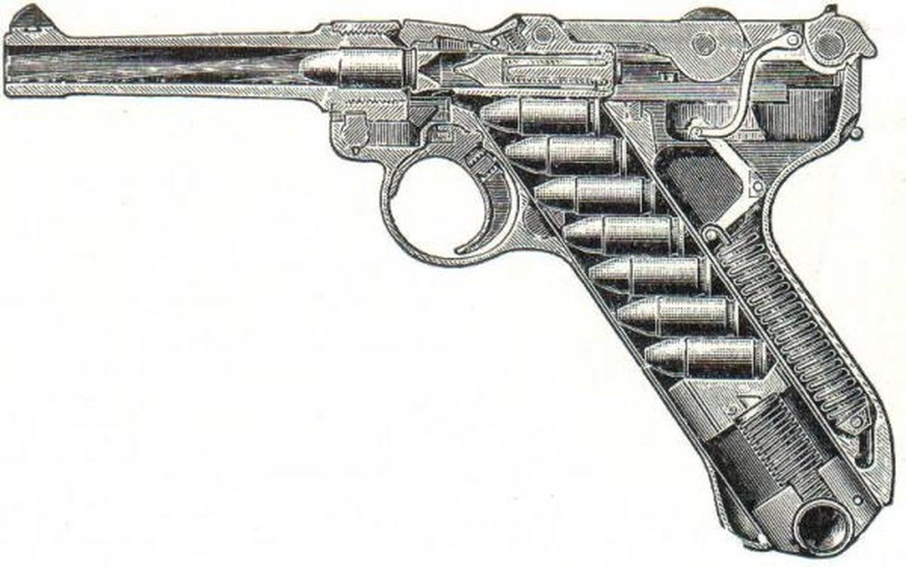 Cuoc dua giua 2 khau sung ngan huyen thoai Luger P-08 va Colt M-1911-Hinh-2