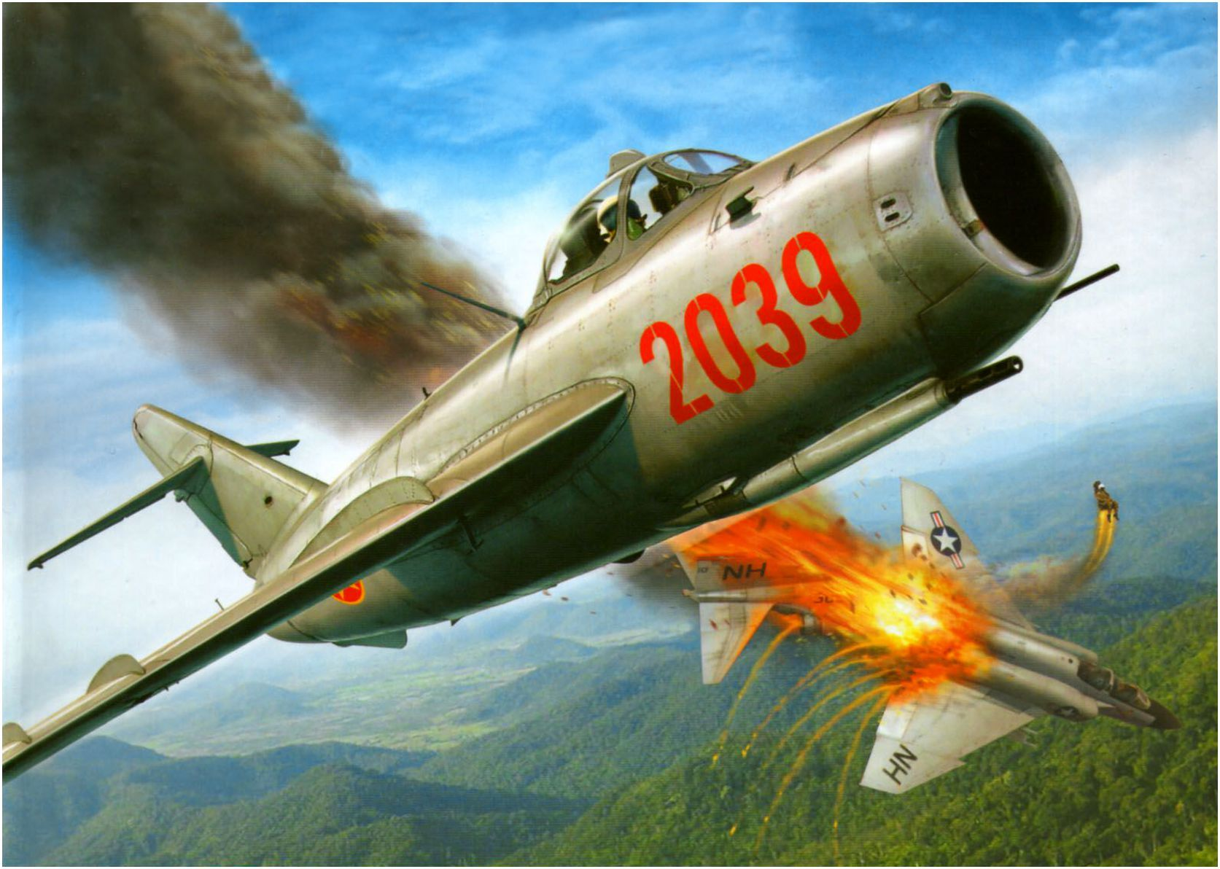 Phi cong 300 gio bay cua Viet Nam ha guc chuyen gia diet MiG-Hinh-16