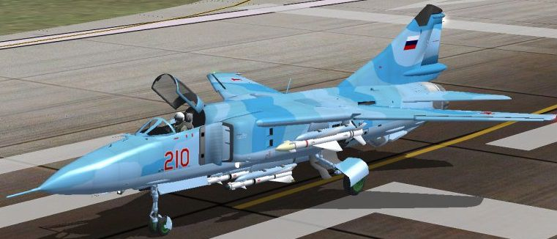 MiG-23 cua Trieu Tien doi dau F-16 Han Quoc - Ai se thang?-Hinh-10