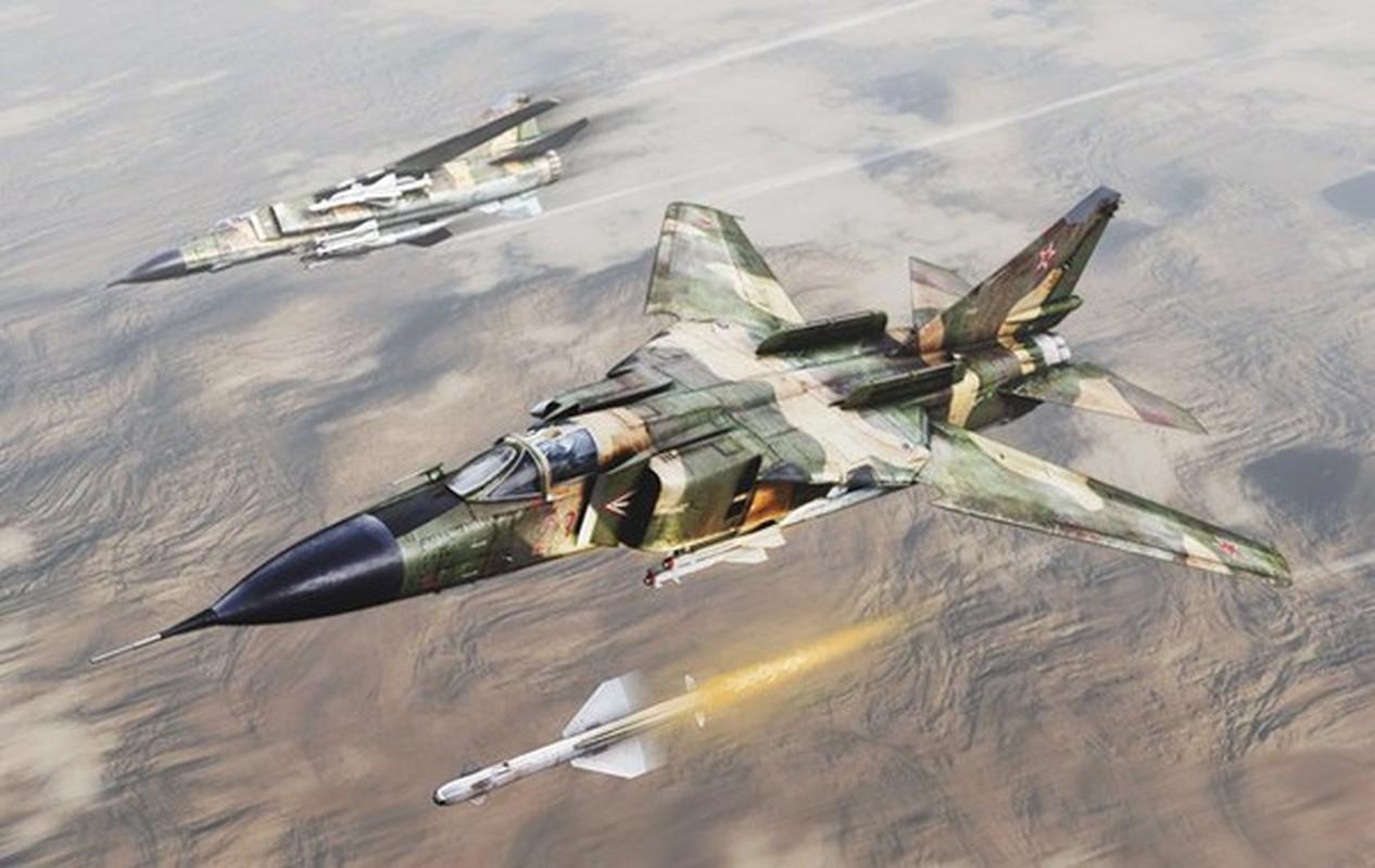MiG-23 cua Trieu Tien doi dau F-16 Han Quoc - Ai se thang?-Hinh-2