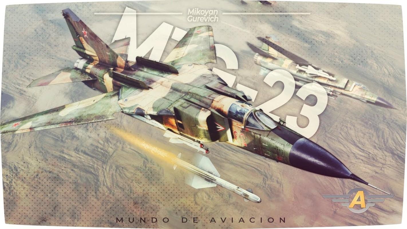 MiG-23 cua Trieu Tien doi dau F-16 Han Quoc - Ai se thang?-Hinh-6