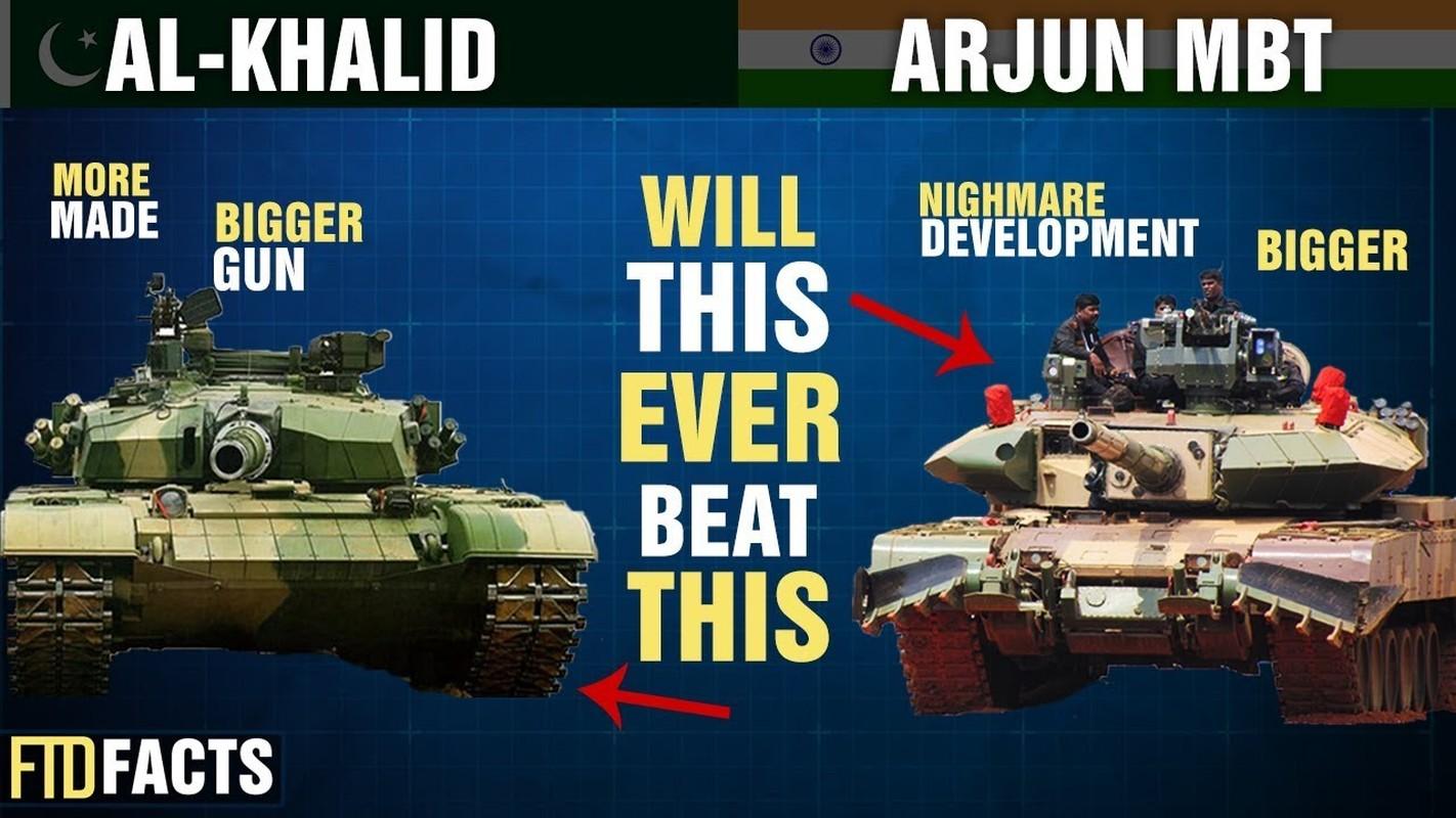 """Xe tang """"nha trong"""" Arjun MK-1A  cua An Do co ap dao duoc Pakistan?-Hinh-16"""