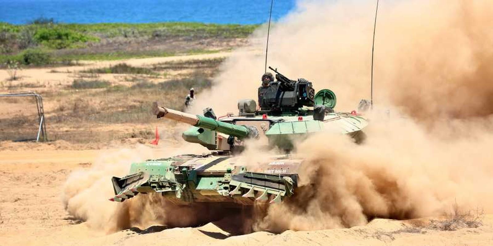"""Xe tang """"nha trong"""" Arjun MK-1A  cua An Do co ap dao duoc Pakistan?-Hinh-3"""