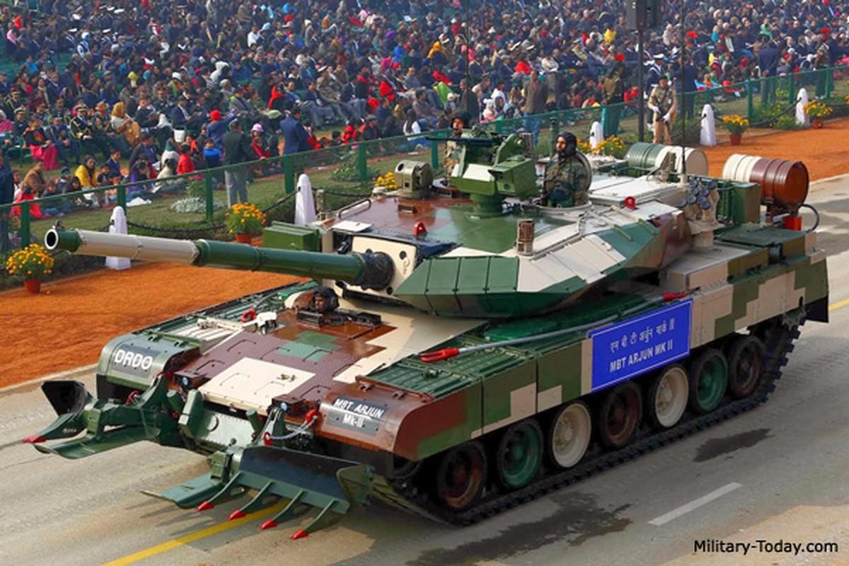 """Xe tang """"nha trong"""" Arjun MK-1A  cua An Do co ap dao duoc Pakistan?-Hinh-6"""