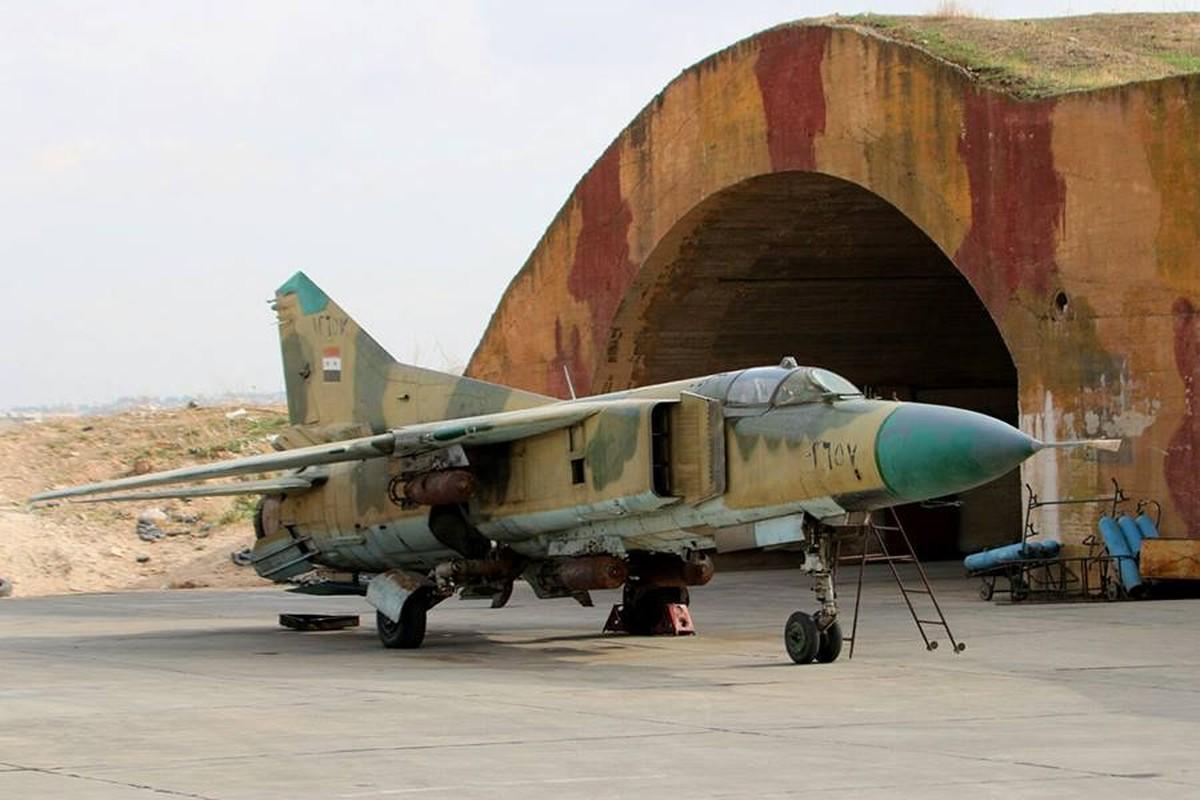Ly do tiem kich MiG la hy vong duy nhat cua Khong quan Syria