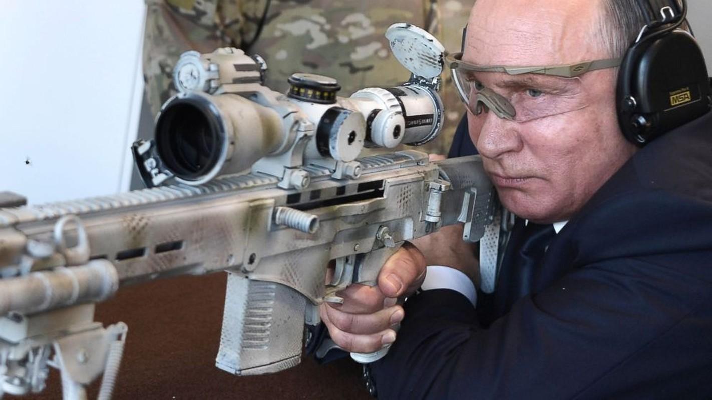 Khau sung ban tia Nga duoc Tong thong Putin