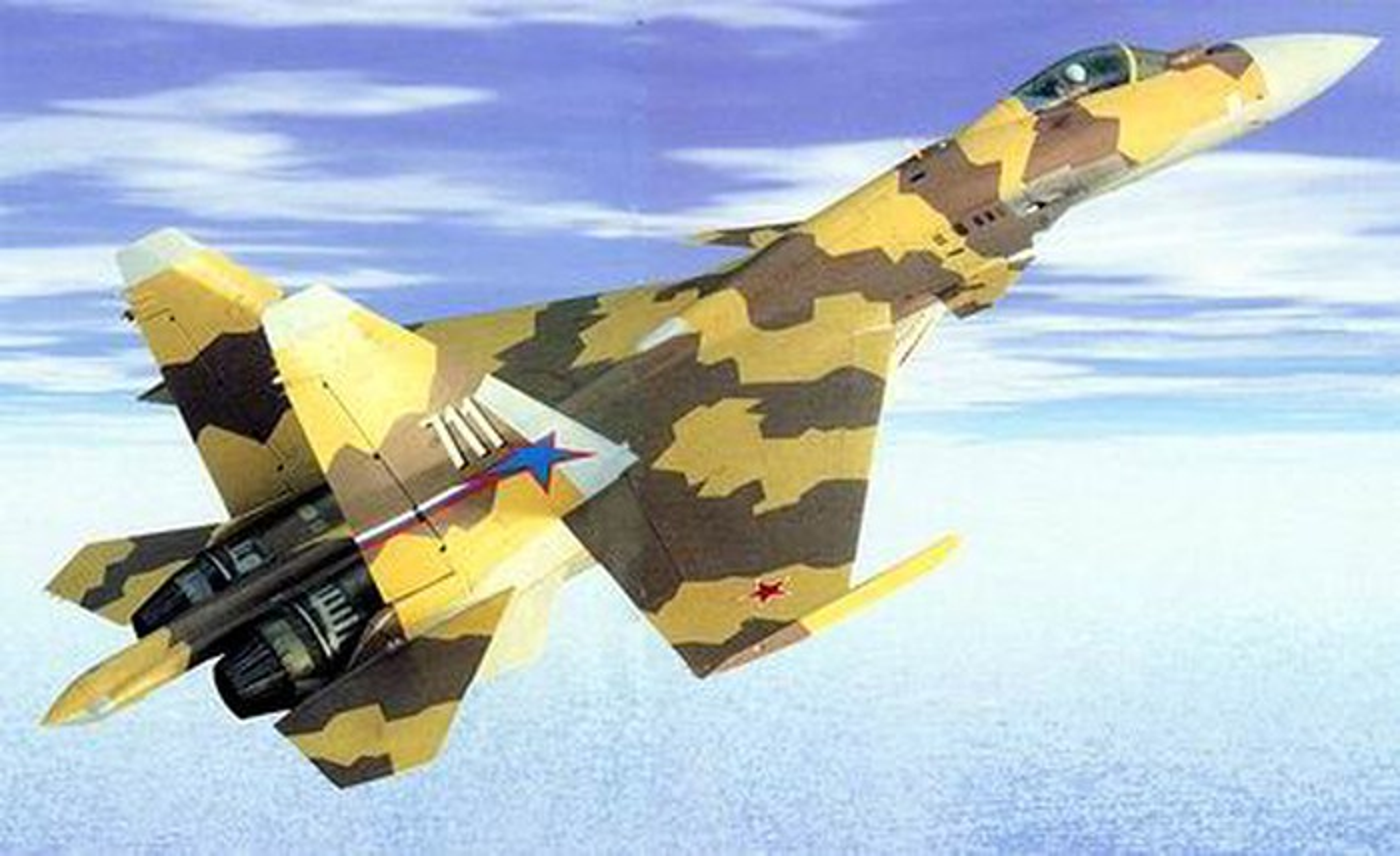 Tiem kich Su-37 mang danh