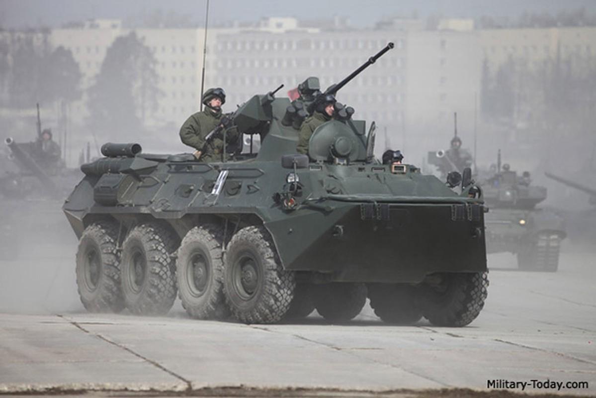 Xe boc thep tu thoi Lien Xo vua toi Crimea khien Ukraine lo lang-Hinh-11