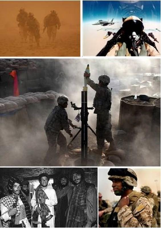 "20 nam tham chien o Afghanistan, My da ""dot"" het bao nhieu tien?"