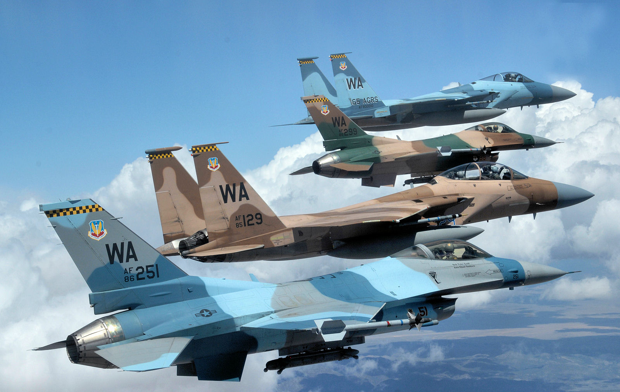 Suc manh dan tiem kich F-16 My dang dat ngay sat nach Trung Quoc-Hinh-2