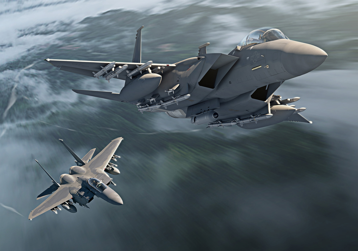Ca Su-35, Su-30 Nga va J-16 Trung Quoc deu phai chao thua F-15EX My (P2)
