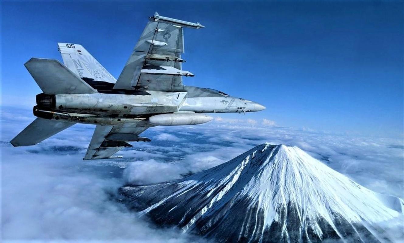 Khi F/A-18E/F Super Hornet cua My dau voi Su-30 cua Nga-Hinh-15