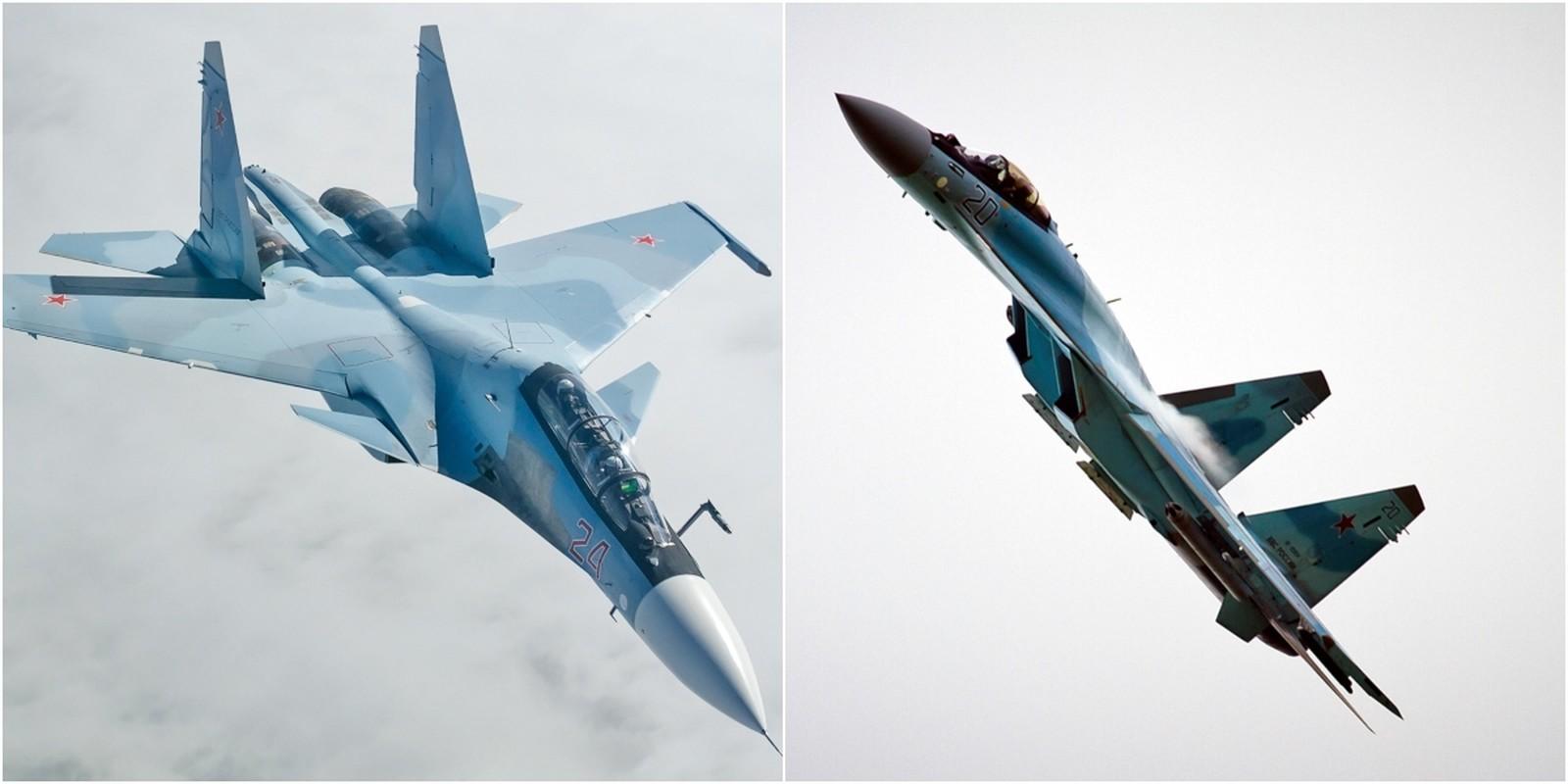 Khi F/A-18E/F Super Hornet cua My dau voi Su-30 cua Nga-Hinh-17