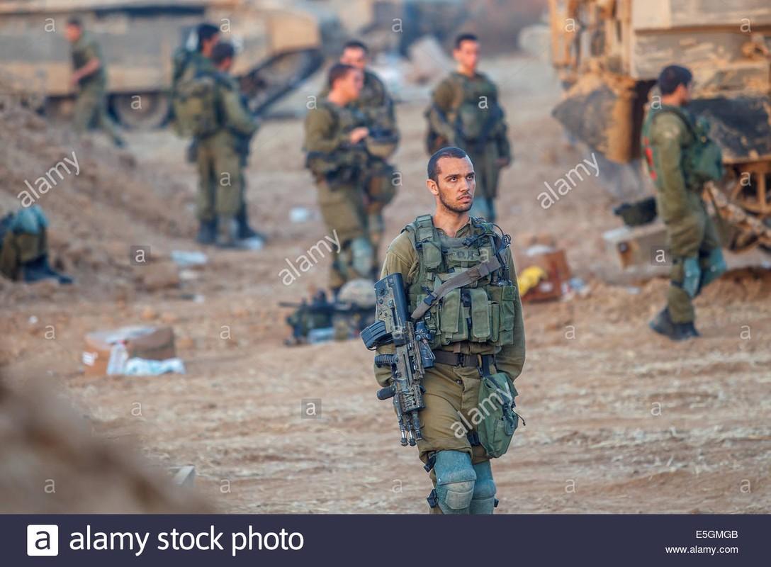Thu tuong Israel the dap tra Hamas; chien tranh tren bo can ke-Hinh-12