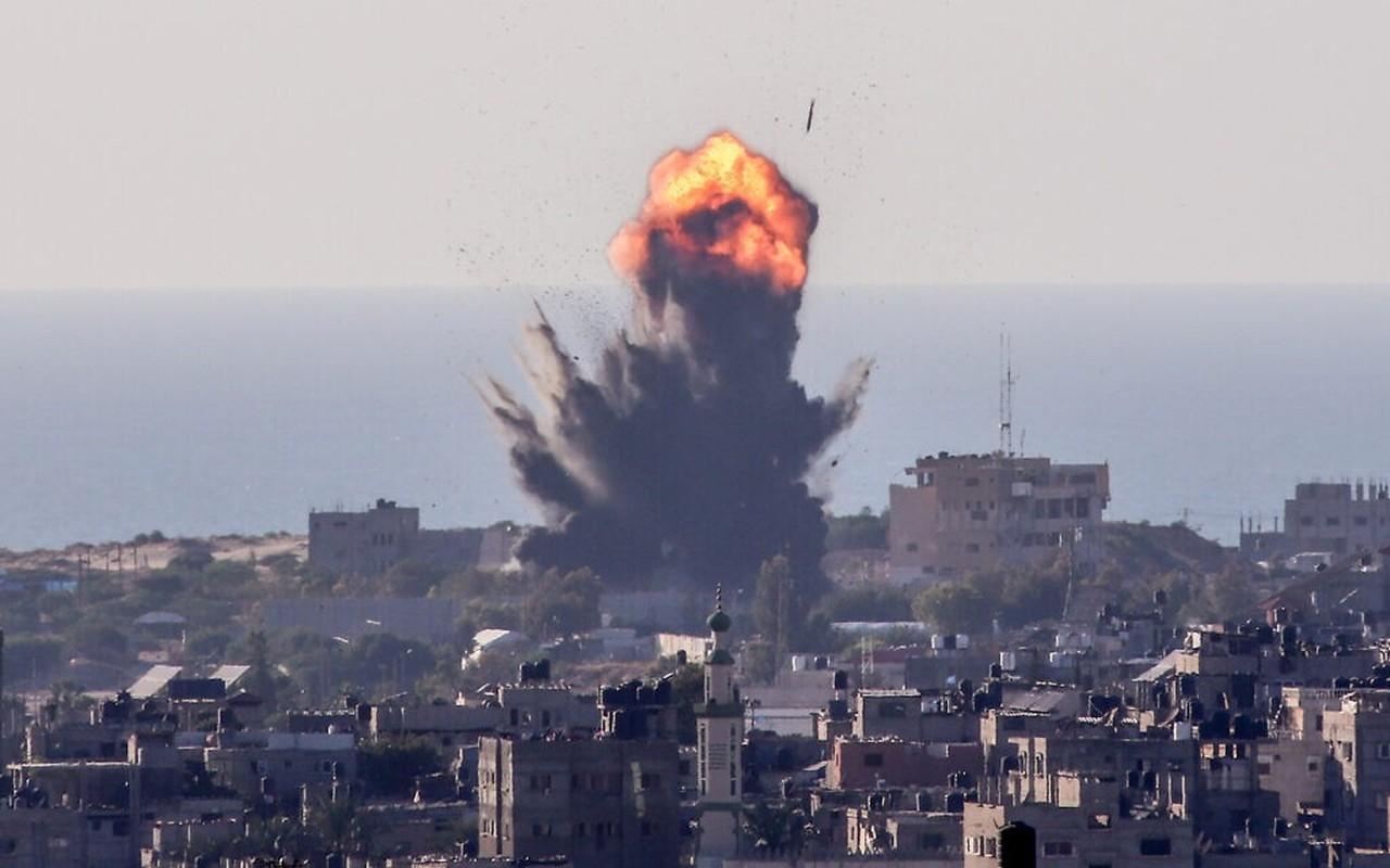 Thu tuong Israel the dap tra Hamas; chien tranh tren bo can ke-Hinh-3