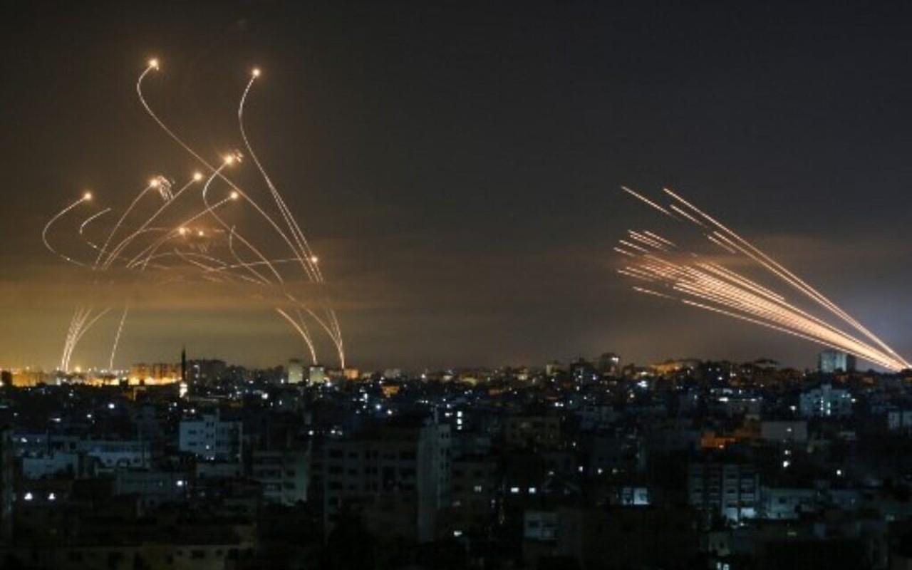 Thu tuong Israel the dap tra Hamas; chien tranh tren bo can ke-Hinh-4