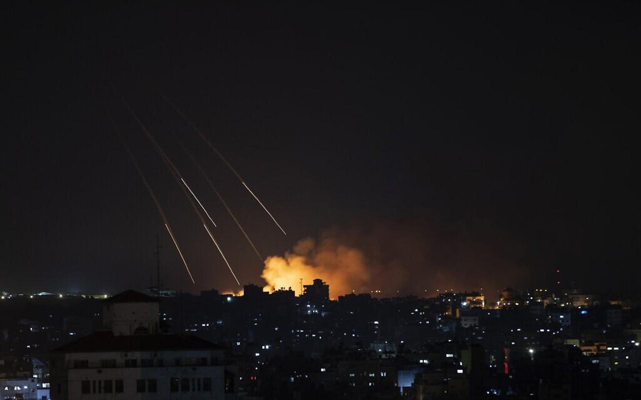 Thu tuong Israel the dap tra Hamas; chien tranh tren bo can ke-Hinh-5