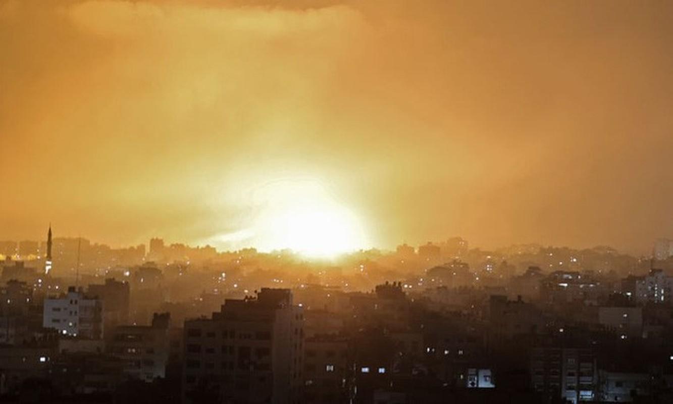 Thu tuong Israel the dap tra Hamas; chien tranh tren bo can ke-Hinh-6