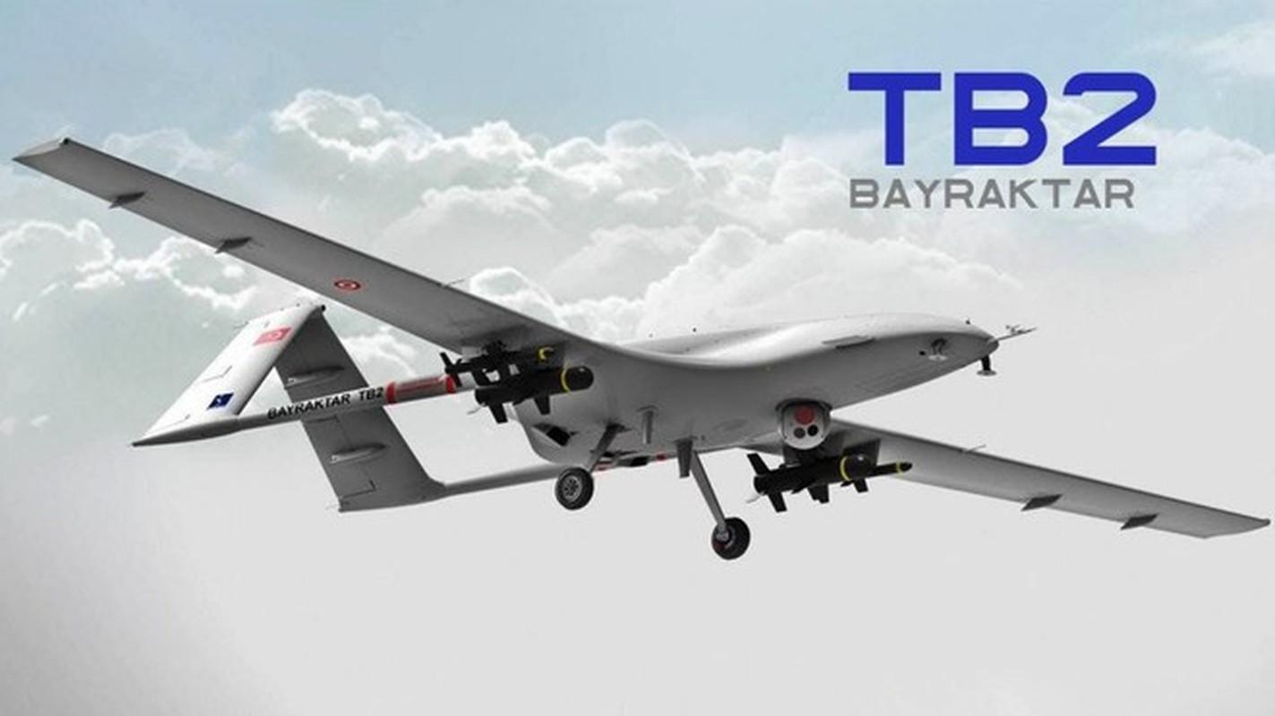 """UAV TB2, vu khi xuat khau """"dat nhu tom tuoi"""" cua Tho Nhi Ky"""