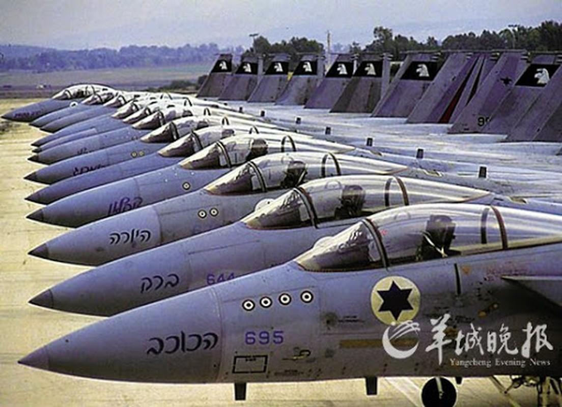 Khong quan Israel va Ai Cap: Lao