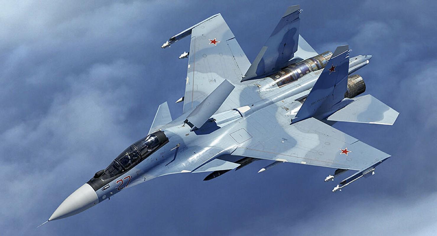 Lan dau can chien may bay Nga, F-35 to ra thua kem Su-30-Hinh-13