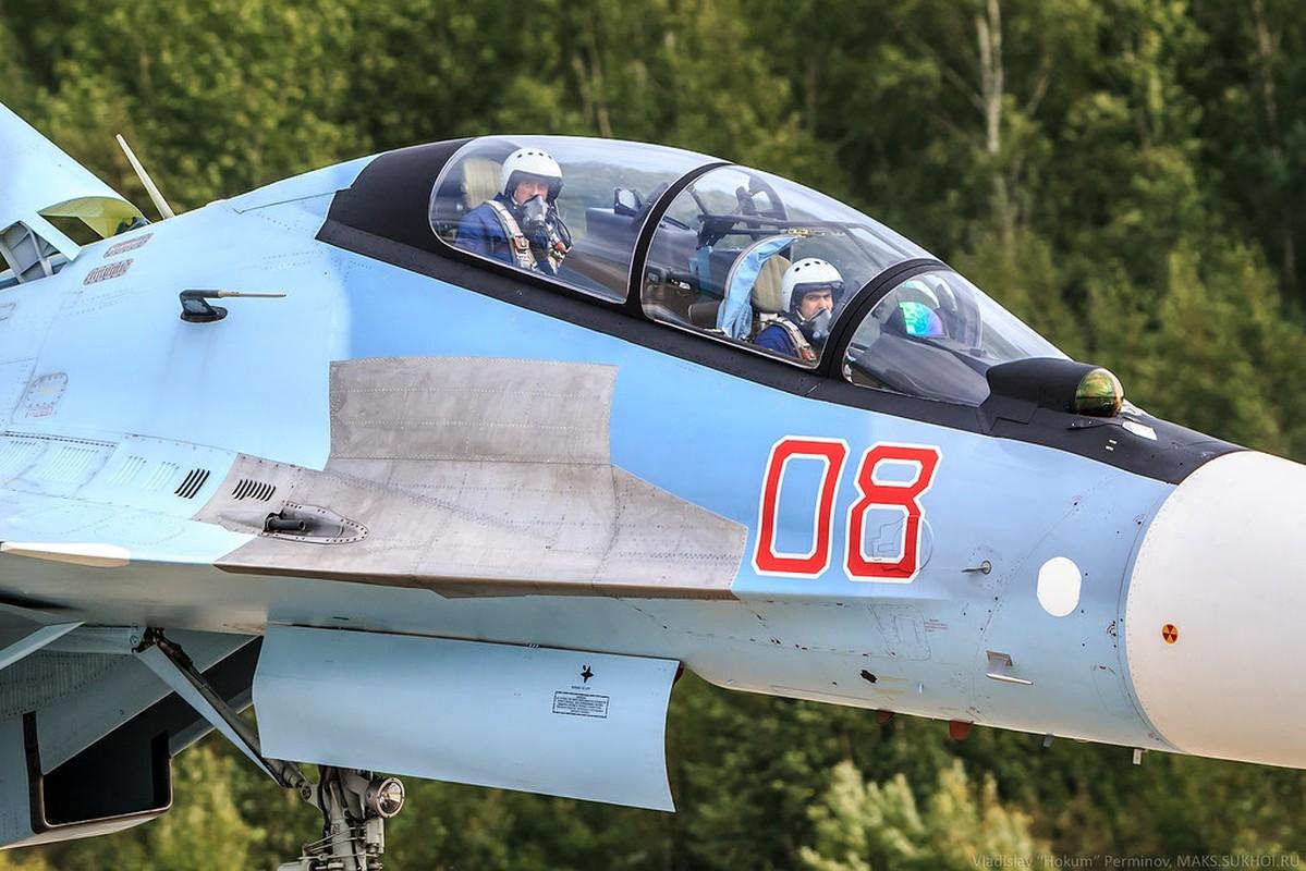 Lan dau can chien may bay Nga, F-35 to ra thua kem Su-30-Hinh-14