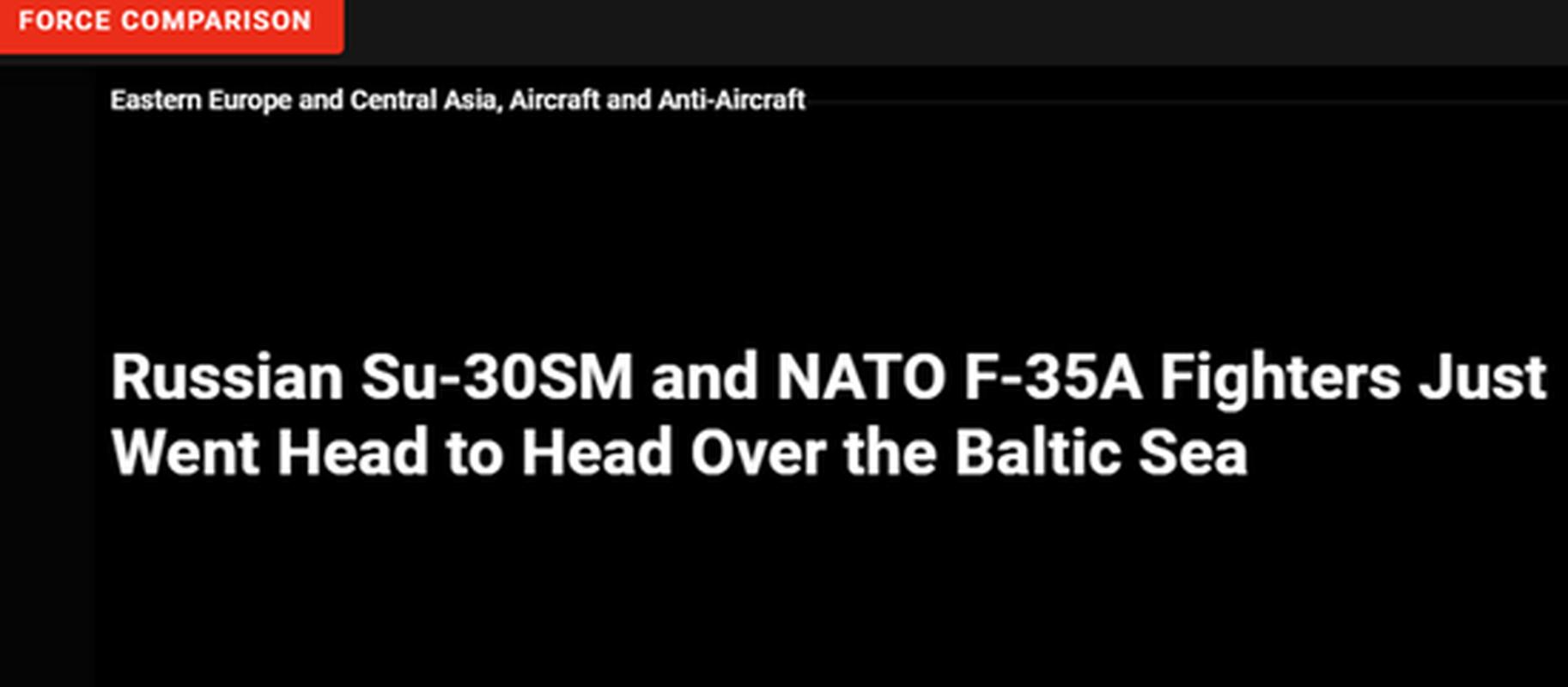 Lan dau can chien may bay Nga, F-35 to ra thua kem Su-30
