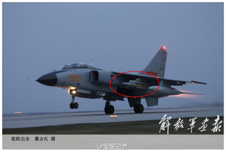 Hoc My, Trung Quoc doi bien J-16 thanh may bay tac chien dien tu-Hinh-15