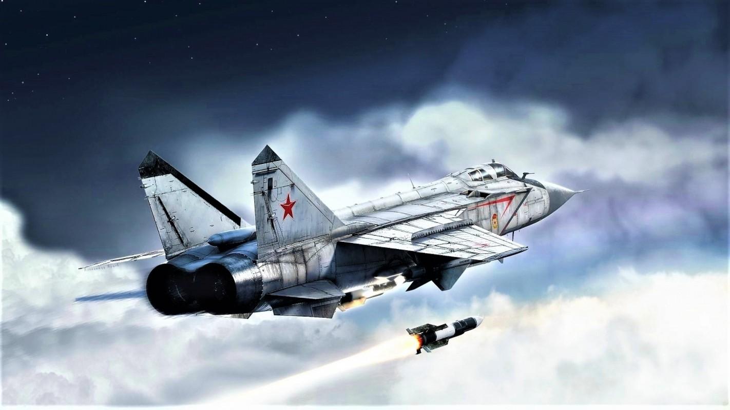 NATO - Ukraina nen nho, Nga van con sieu tiem kich MiG-31 trong bien che-Hinh-12