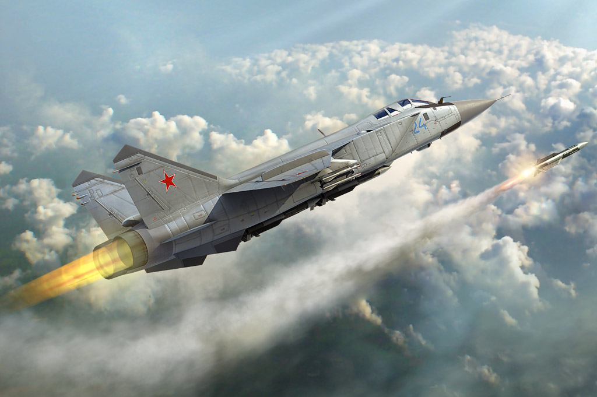 NATO - Ukraina nen nho, Nga van con sieu tiem kich MiG-31 trong bien che-Hinh-19