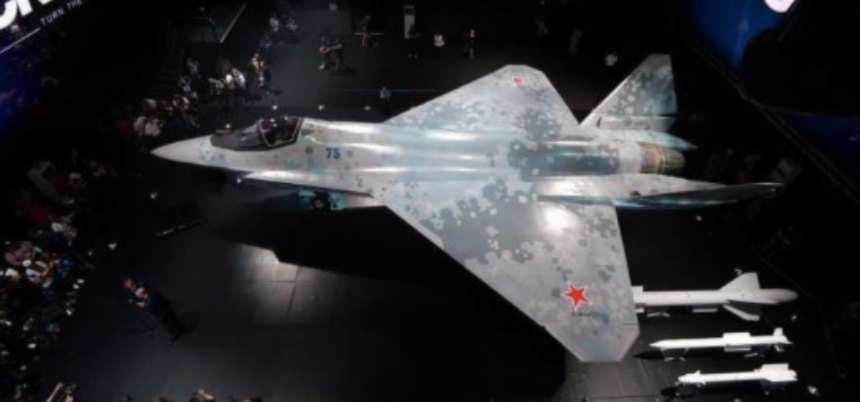 My phan tich hinh dang khi dong hoc cua Su-75 Chieu Tuong