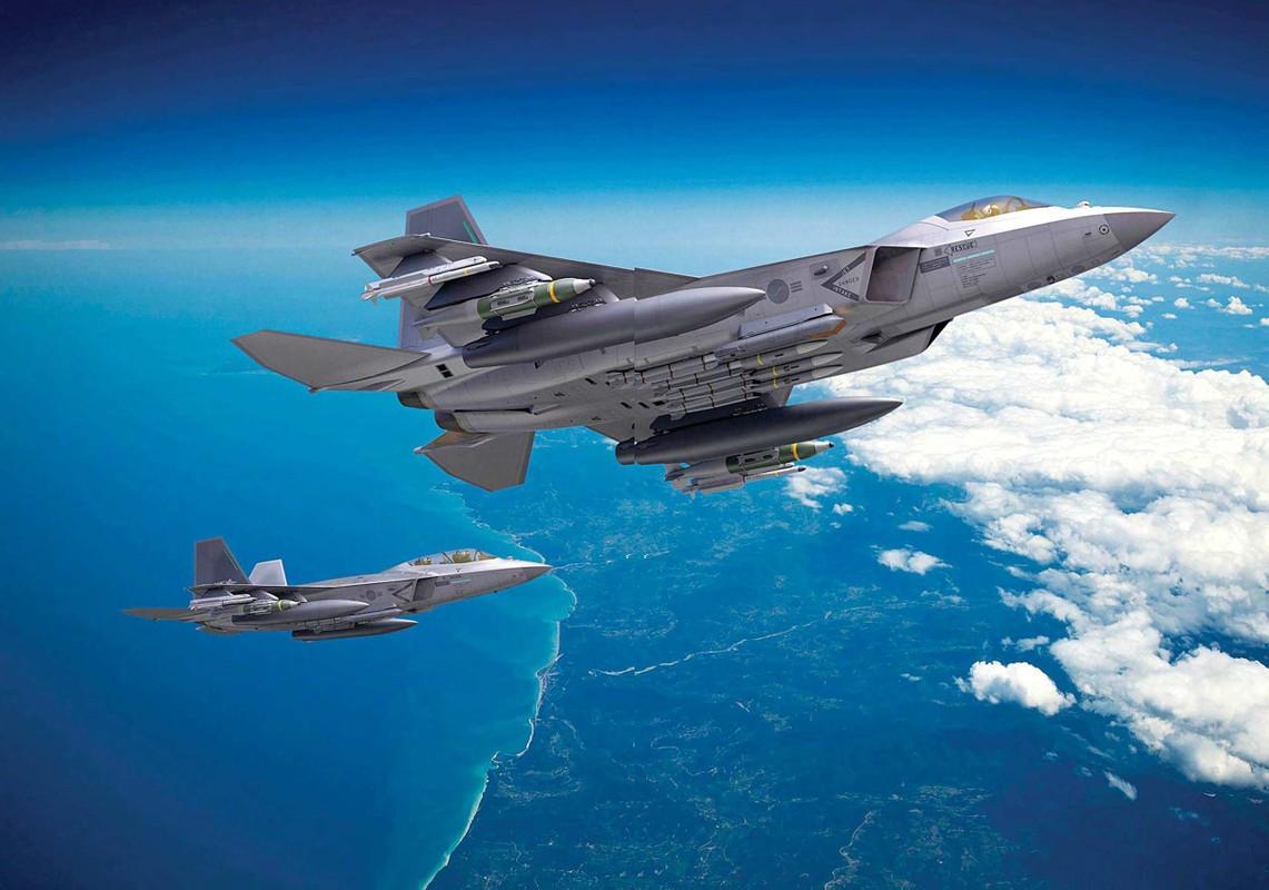 Chien dau co tang hinh KF-21 lieu co du suc sanh ngang F-35?-Hinh-16