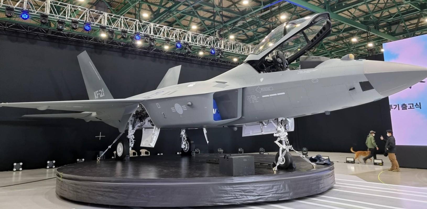 Chien dau co tang hinh KF-21 lieu co du suc sanh ngang F-35?-Hinh-4