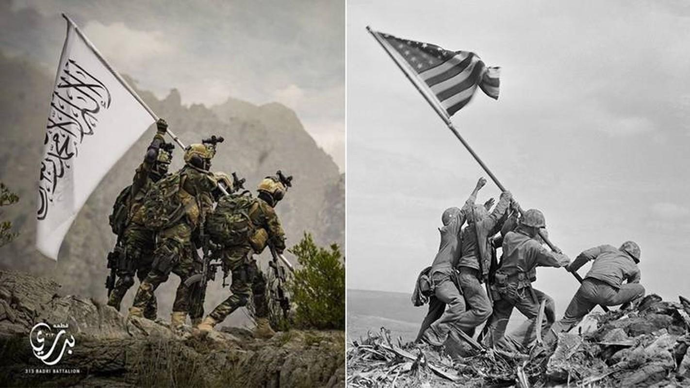 Taliban tai dien canh cam co mo phong su kien Iwo Jima sau 76 nam-Hinh-3