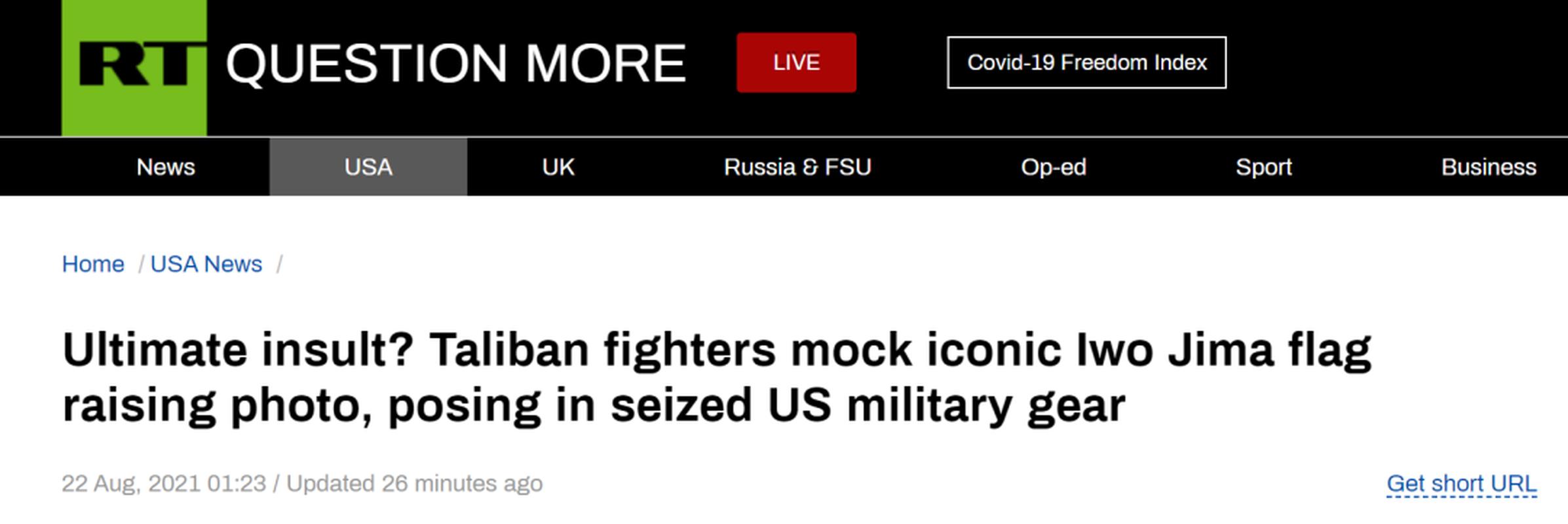 Taliban tai dien canh cam co mo phong su kien Iwo Jima sau 76 nam-Hinh-4
