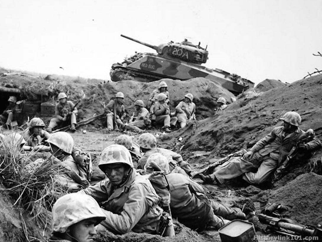 Taliban tai dien canh cam co mo phong su kien Iwo Jima sau 76 nam-Hinh-7