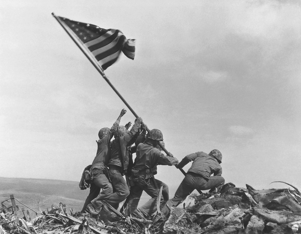 Taliban tai dien canh cam co mo phong su kien Iwo Jima sau 76 nam-Hinh-8