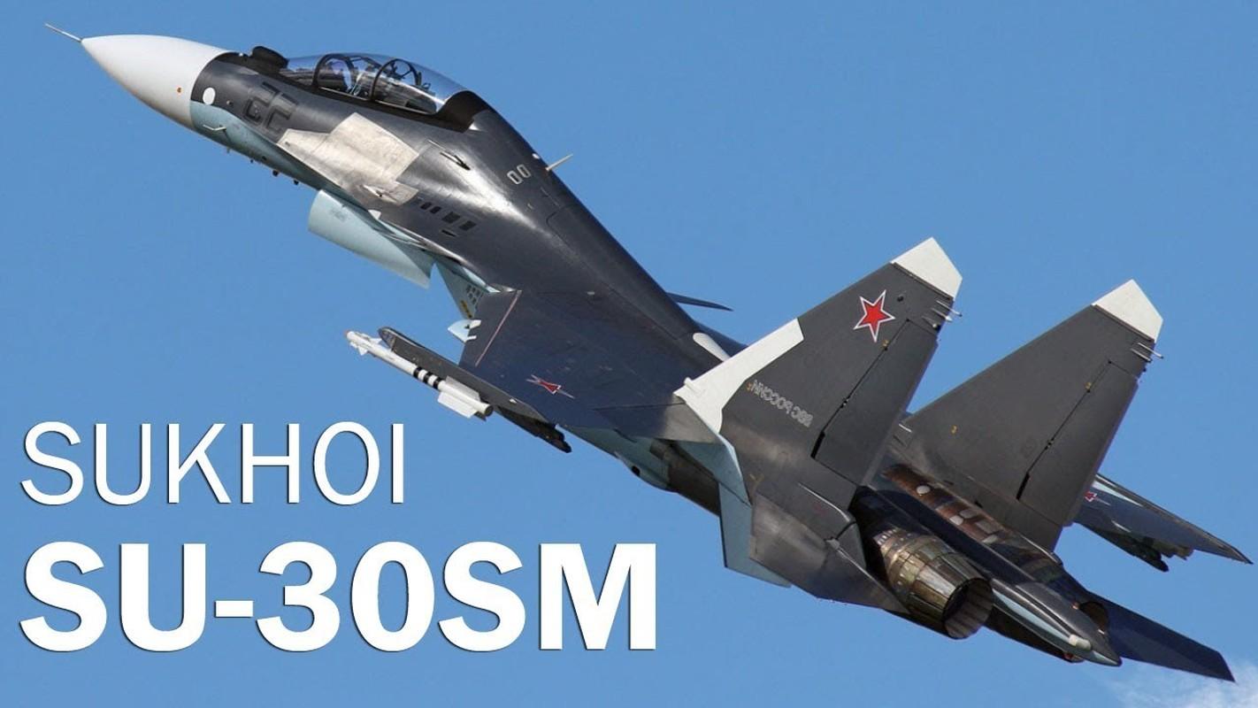 Nga van can man nang cap du tiem kich Su-30SM da qua manh