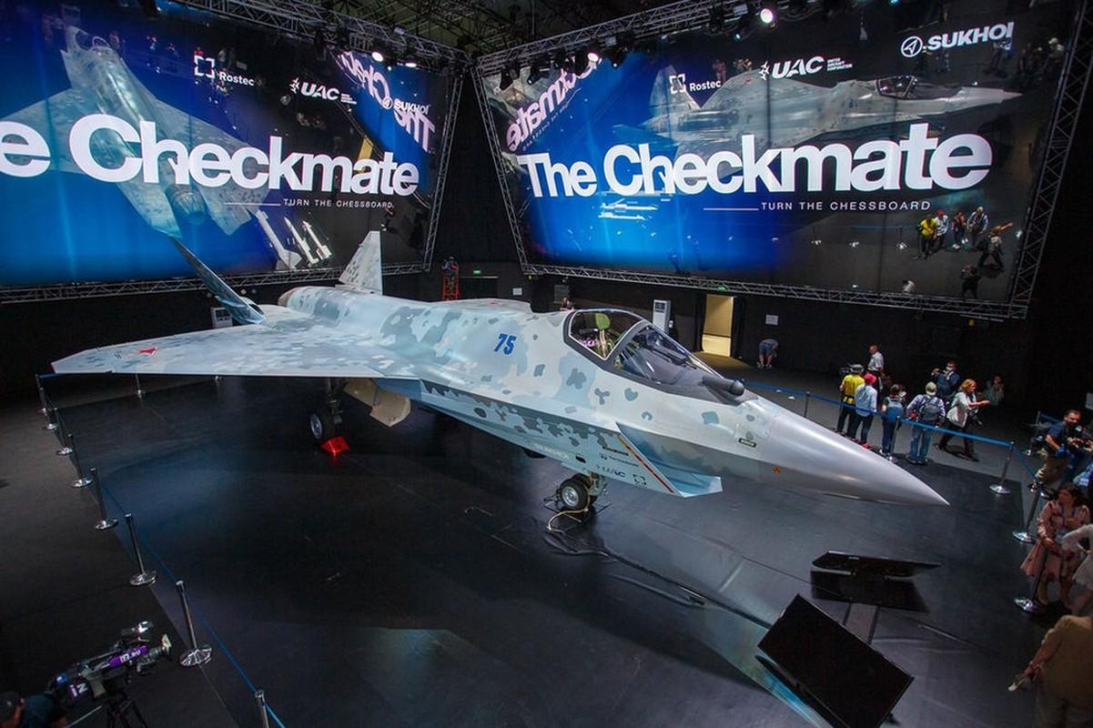 Tiem kich Su-75 Checkmate cua Nga chiu nhieu anh huong tu My-Hinh-18
