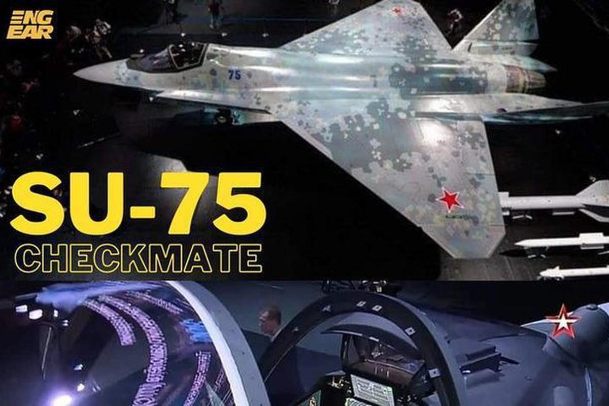 Tiem kich Su-75 Checkmate cua Nga chiu nhieu anh huong tu My-Hinh-9