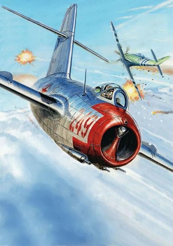 Chien tranh Trieu Tien: Cach tiem kich MiG-15 Nga