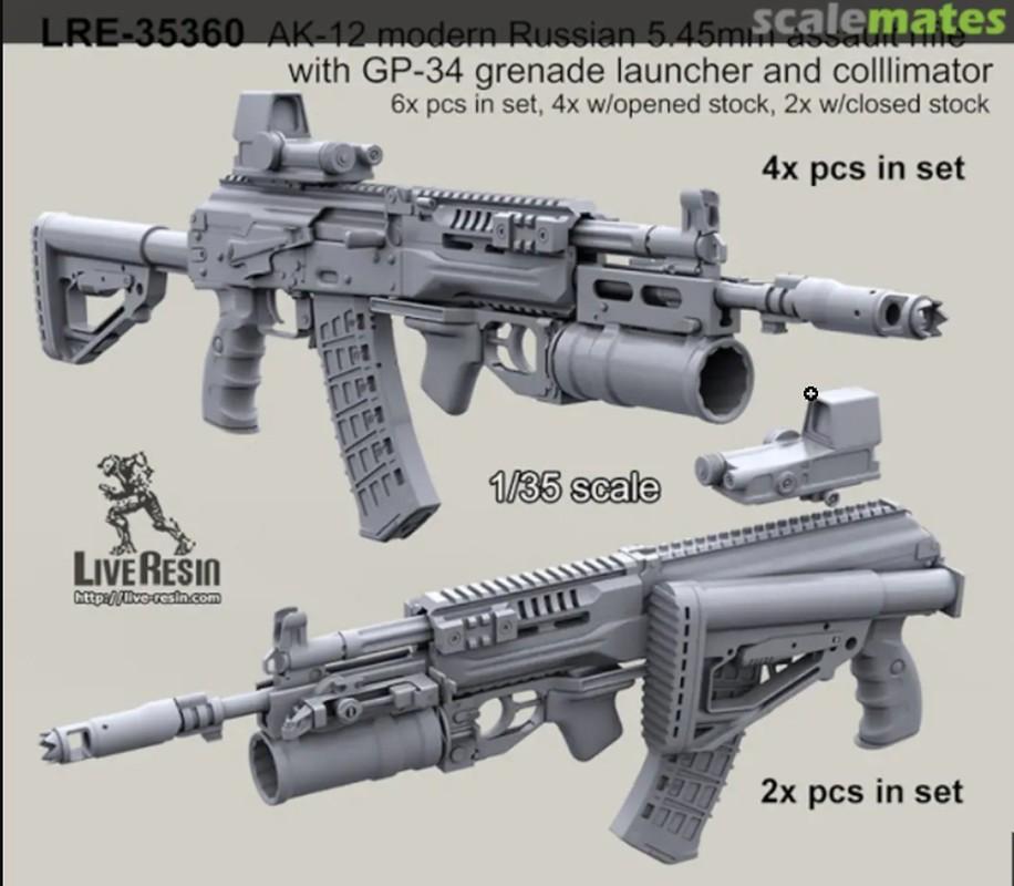 Nga chinh thuc trang bi sieu sung tuong tan cong AK-12 cho toan quan-Hinh-4