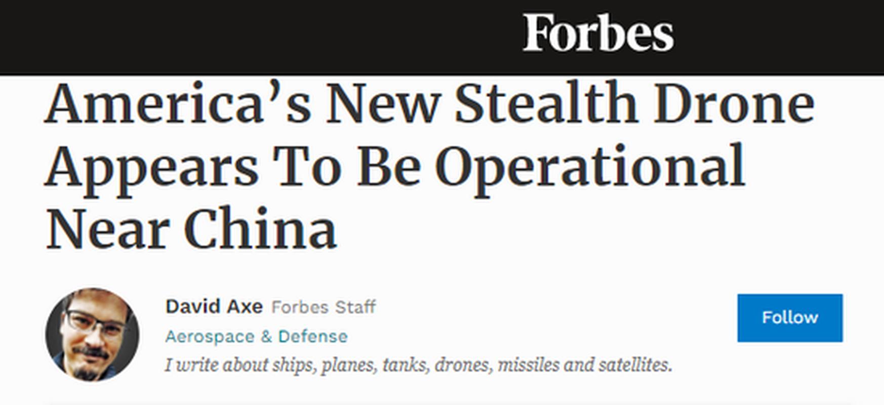 UAV tang hinh bi an cua My khien Trung Quoc run so tot do