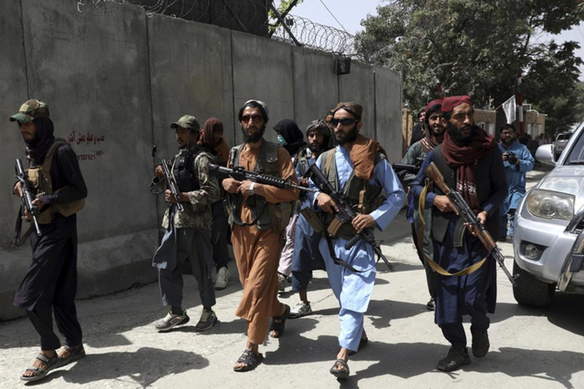 Man thanh trung cua cac tay sung Taliban tai Afghanistan bat dau