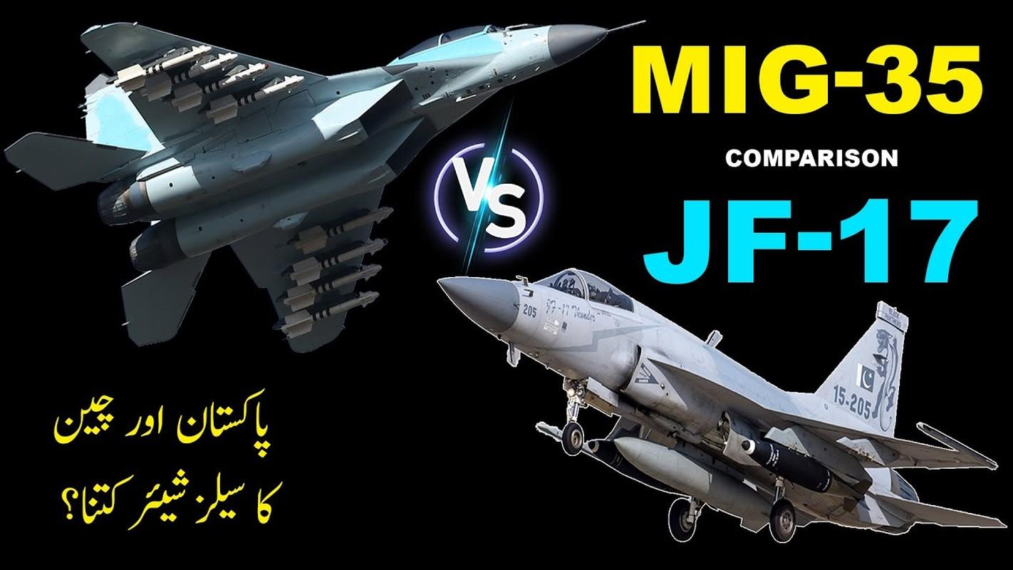JF-17A cua Pakistan danh bai MiG-35 trong dieu tango Argentina cuong nhiet
