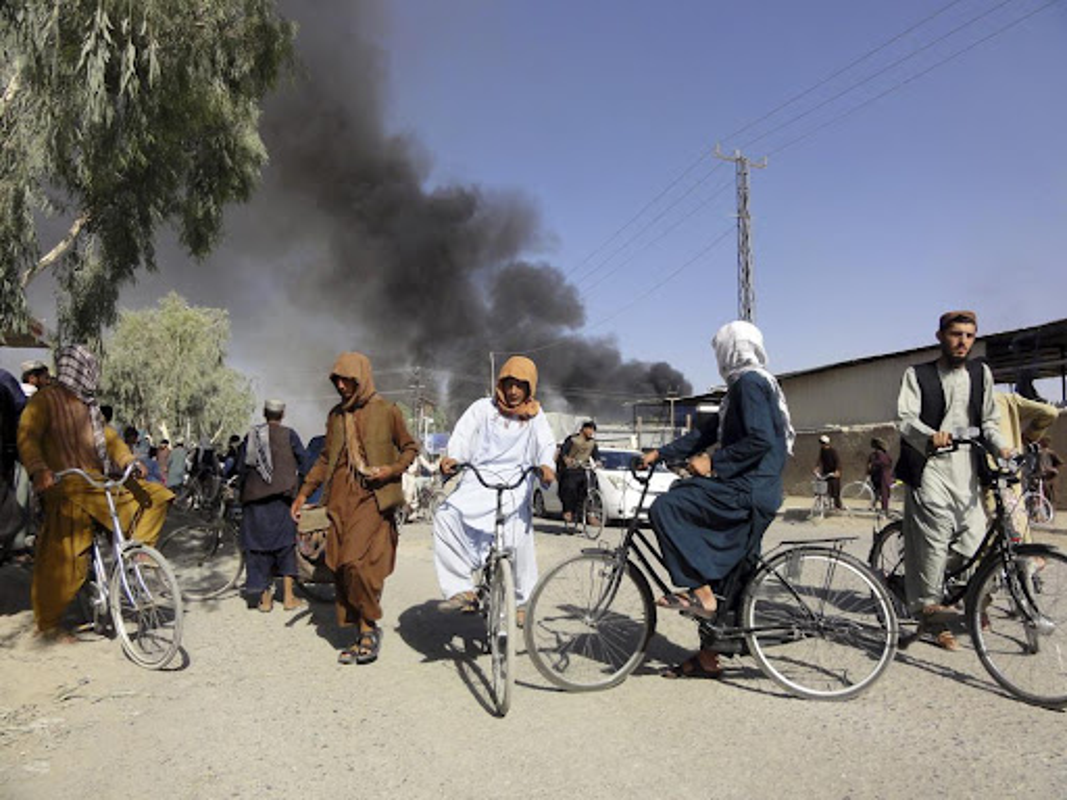 Vua nam quyen, Taliban phai doi mat voi ke thu truyen kiep ISIS-K-Hinh-8