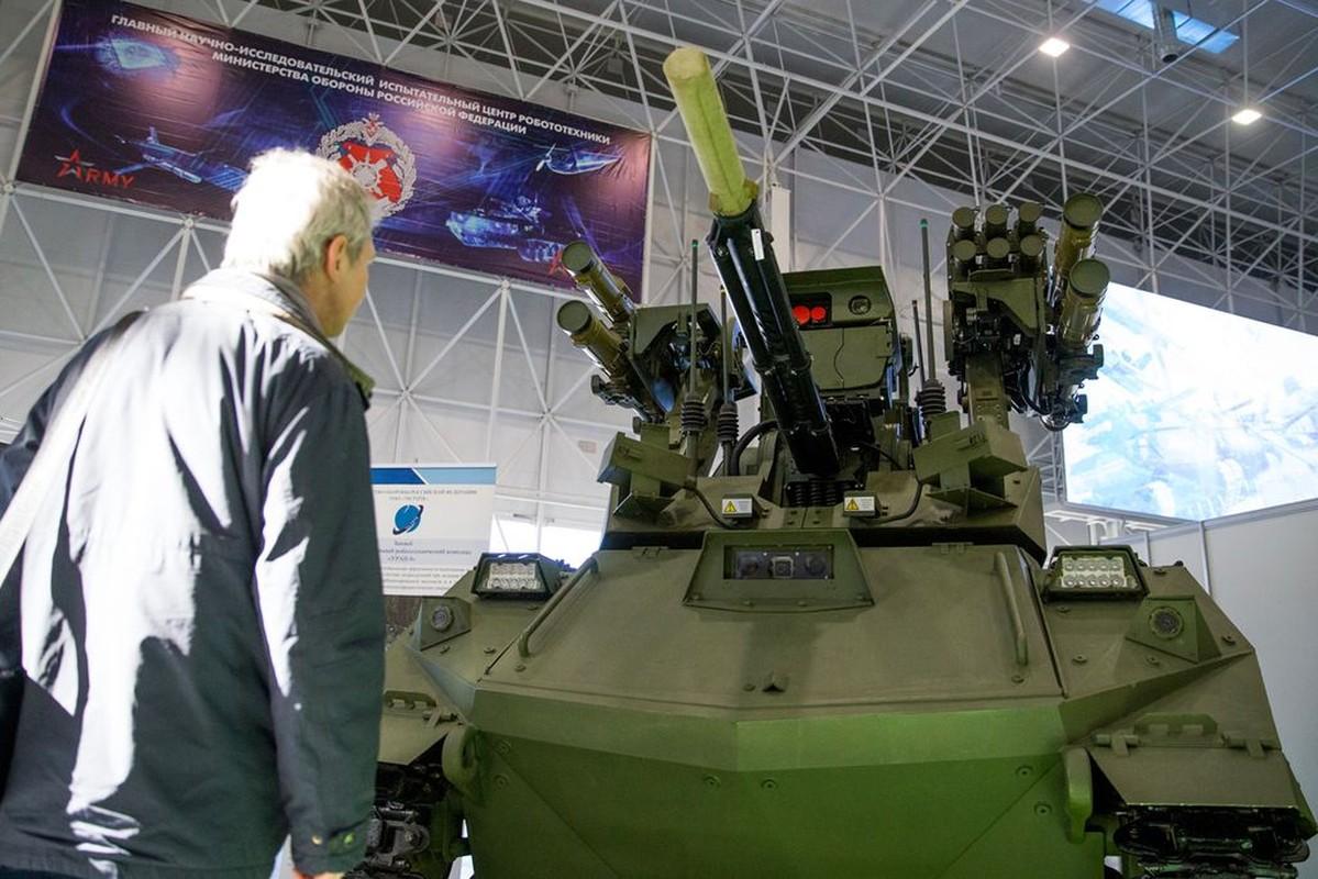Robot chien dau cuc doc xuat hien trong tap tran Zapad-2021-Hinh-13